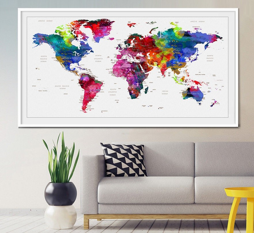 Best Decorative Push Pins Map Push Pins World Map Push Pin Push This Month