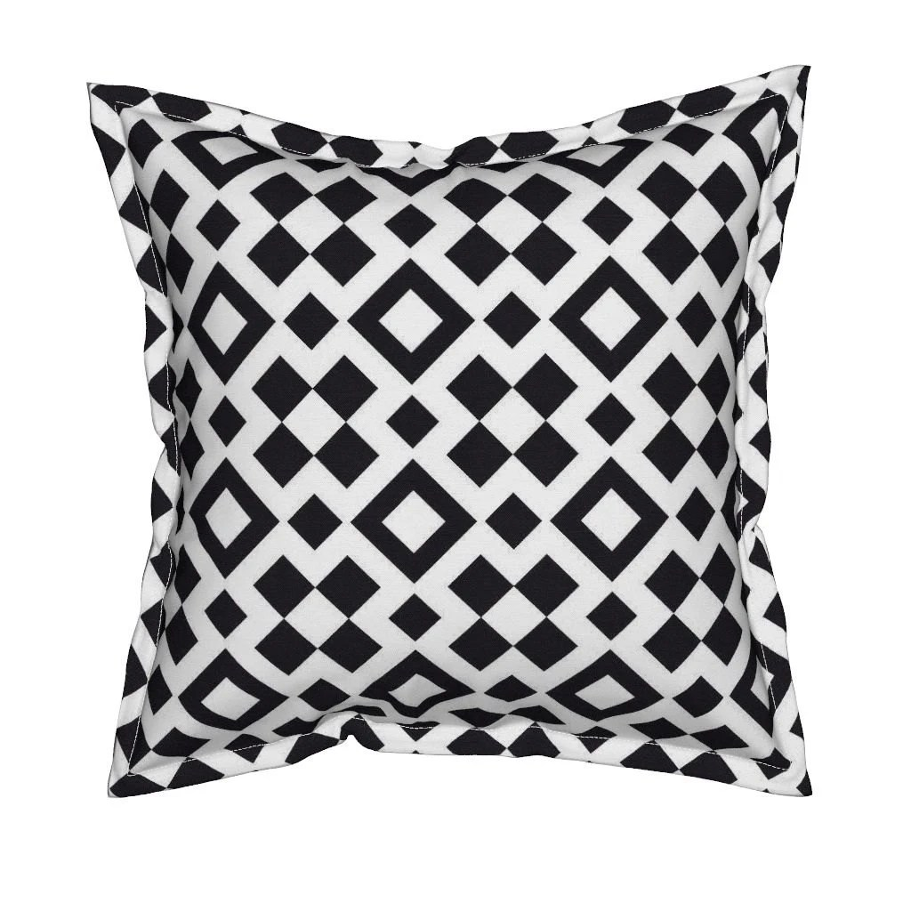 Best Black And White Pillow Geometric Throw Pillows Decorative This Month