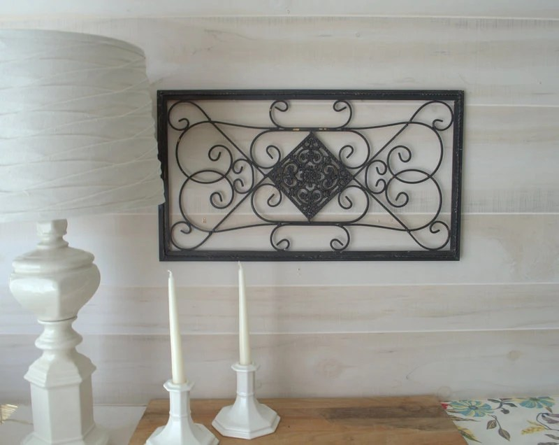 Best Wrought Iron Metal Wall Decor Black Metal Wall Art Shabby This Month
