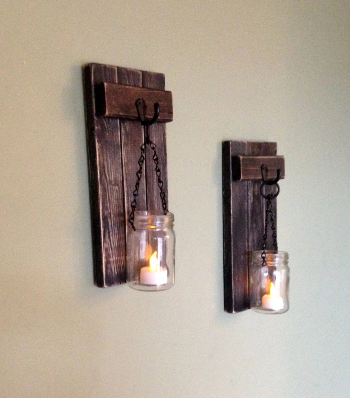 Best Rustic Wall Decor Wall Sconce Wooden Sconce Wooden Candle This Month