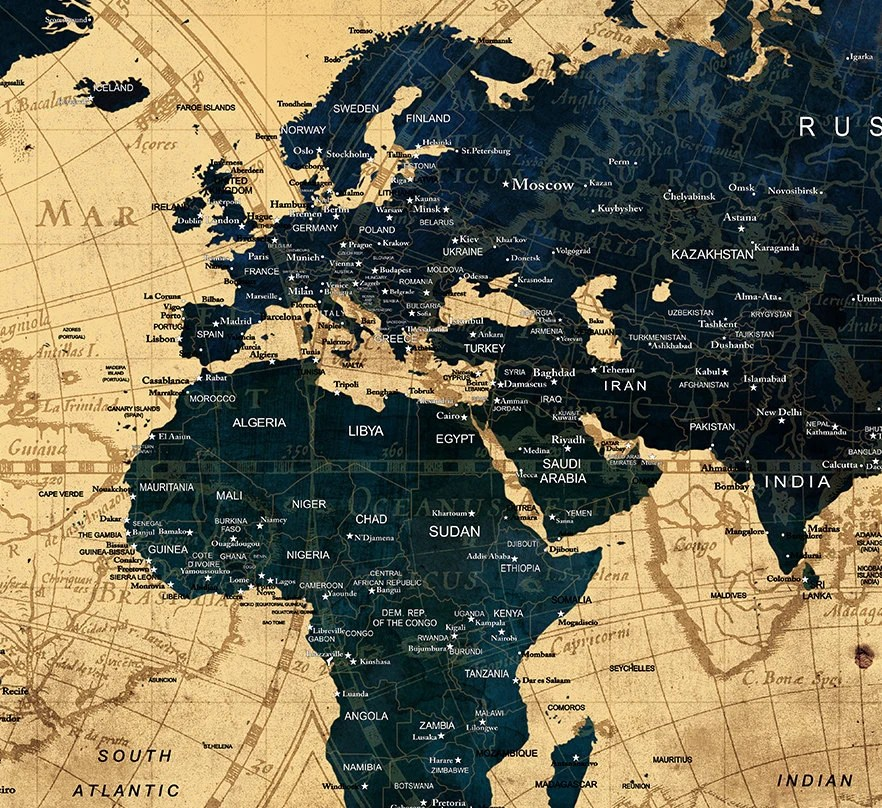 Best Decorative Extra Large World Map Push Pin Travel Wall Art This Month