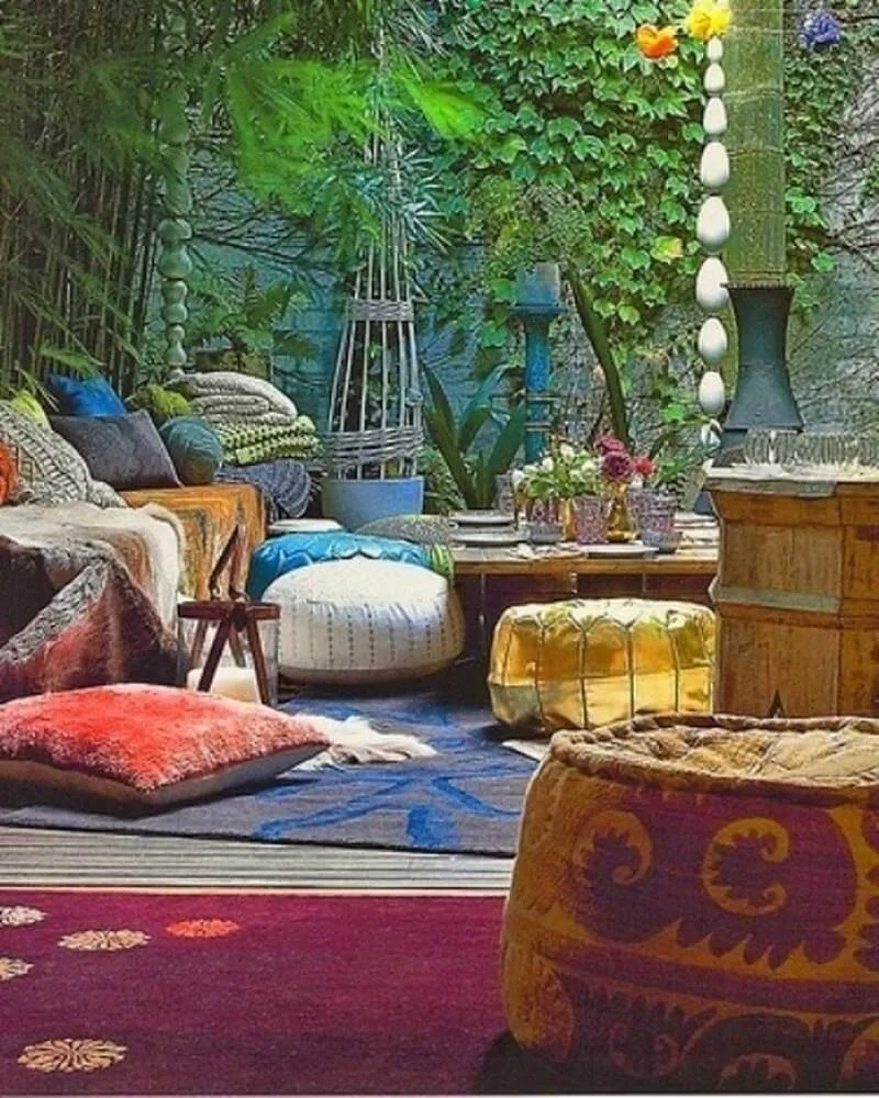 Best 10 Charming Bohemian Patio Design Ideas Https This Month