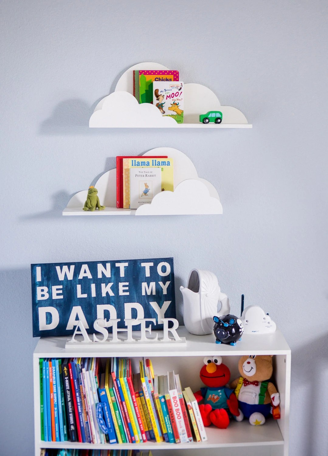 Best Cloud Shelf For Kids Room Baby Nursery Wall Decor Hanging This Month