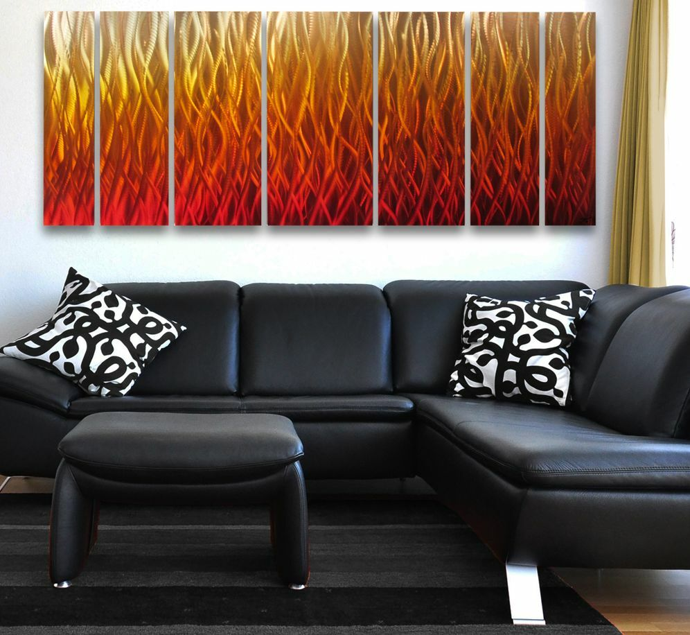 Best Modern Abstract Metal Wall Art Painting Sculpture Home This Month