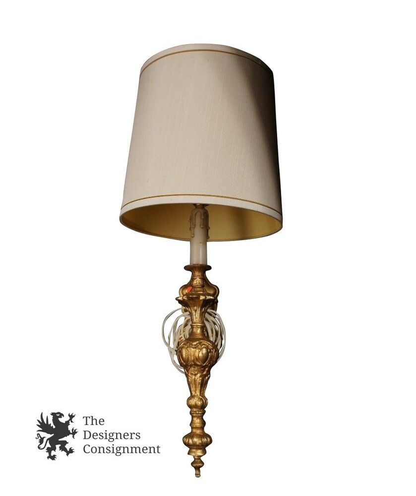 Best Decorative Gilded Wall Sconce Hanging Accent Lamp Light This Month