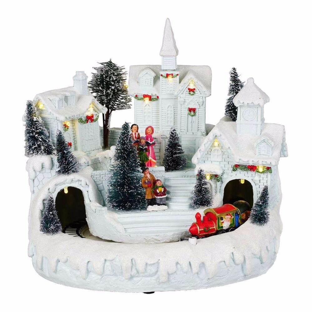 Best Home Accents Holiday 9 Inch Animated Decor Led Lighted This Month