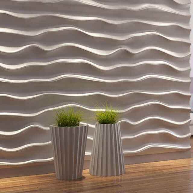 Best 1 Pcs Abs Plastic Mold For Plaster 3D Decorative Wall This Month