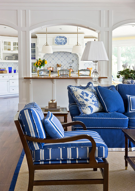 Best Blue And White Rooms This Month