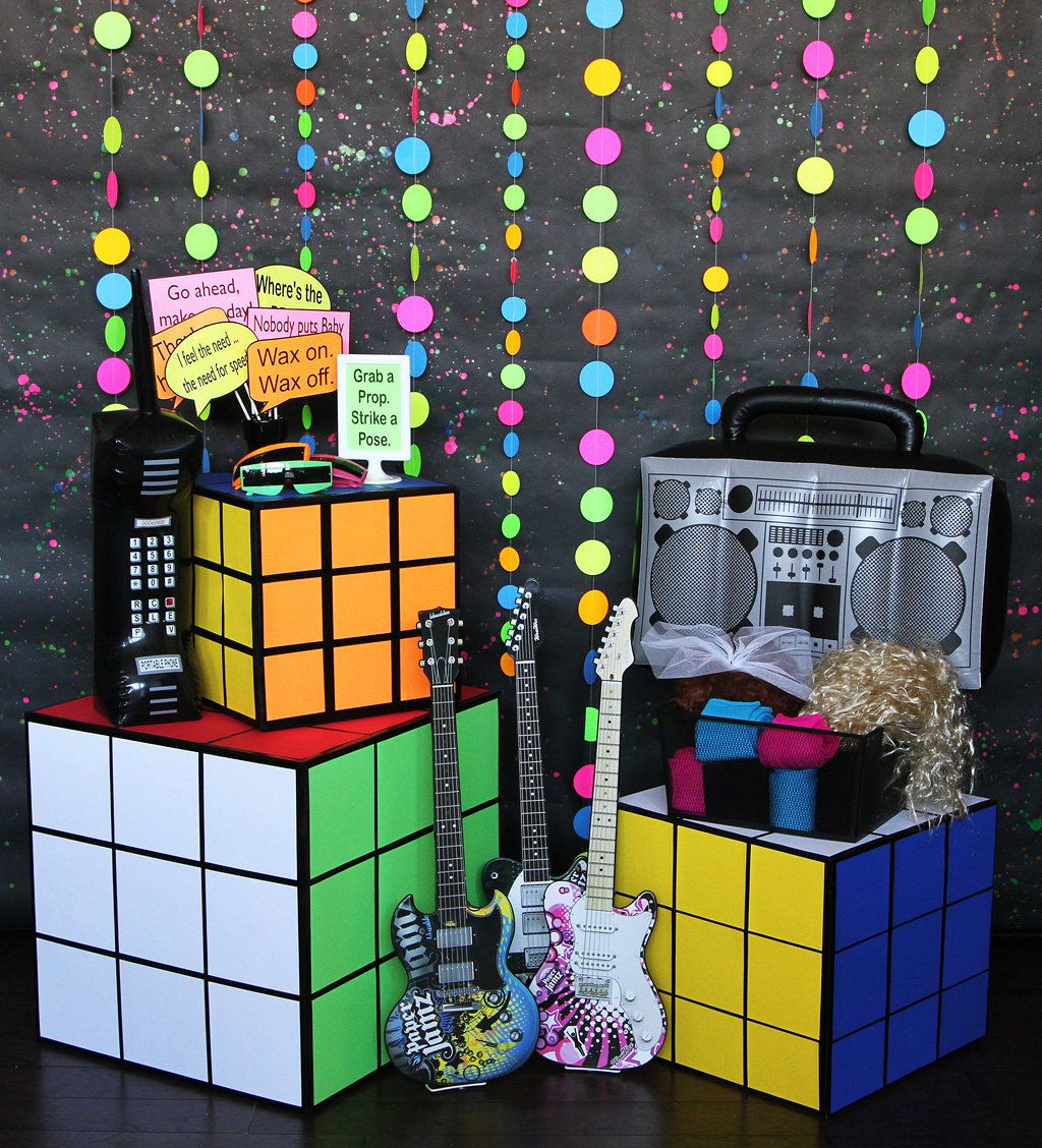 Best 80S Party Ideas Decades Party Ideas At Birthday In A Box This Month