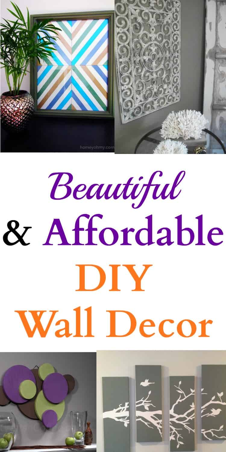 Best Beautiful Affordable Diy Wall Decor This Month