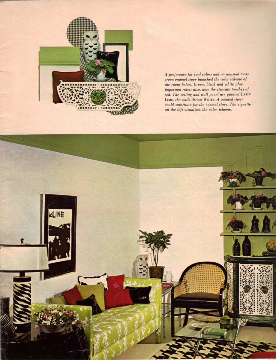 Best 1960S Decorating Style 16 Pages Of Painting Ideas From This Month
