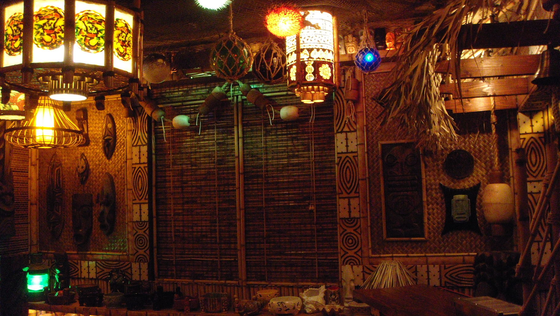 Best Tiki Bar Decor At Home Readers Photos Of Their Tiki Style This Month