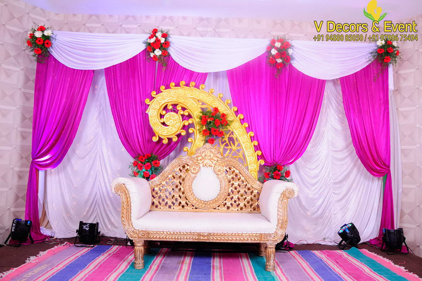 Best V Decors And Events Wedding Decorations Pondicherry This Month