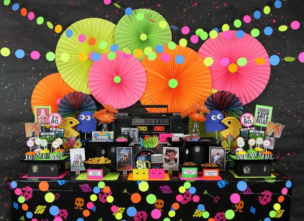 Best Totally Epic 80S Theme Party Ideas Pretty My Party This Month