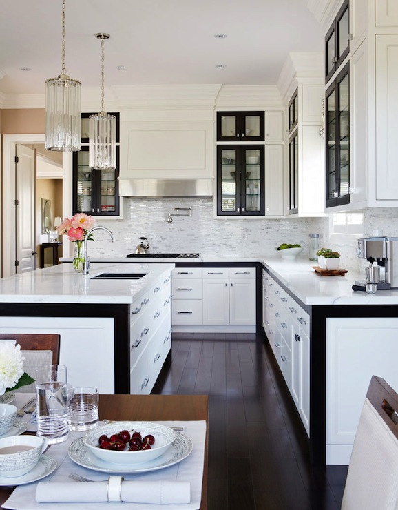 Best Black And White Kitchen Design Contemporary Kitchen This Month