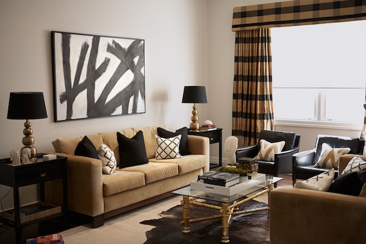 Best Black And Gold Living Room Contemporary Living Room This Month