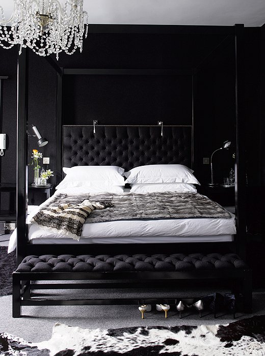 Best Black Bedroom Contemporary Bedroom This Month
