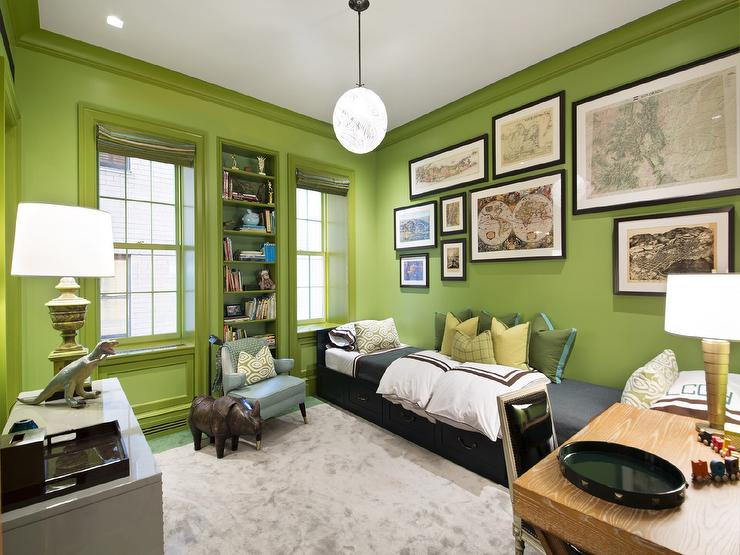 Best Boys Room With Green Walls Design Ideas This Month