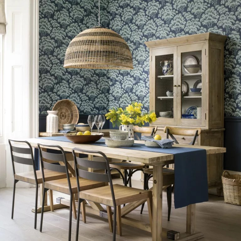 Best Dining Room Wallpaper Ideas – Dining Room With Wallpaper This Month