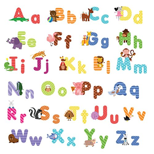 Best Animal Alphabet Wall Decals Shop Kids Parties This Month