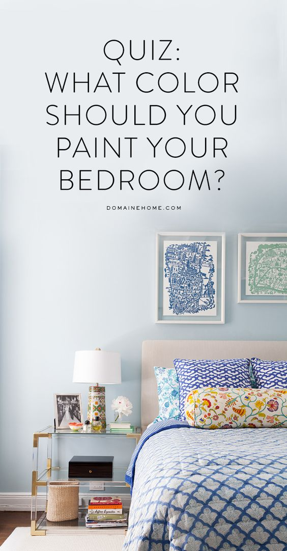 Best Quiz What Color Should You Paint Your Bedroom Guest This Month