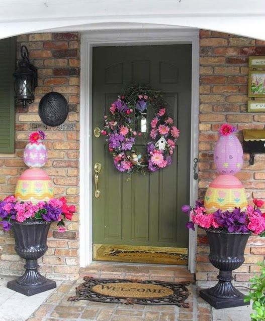 Best 29 Cool Diy Outdoor Easter Decorating Ideas Do It This Month
