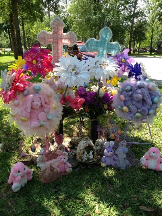 Best Easter Cemetery Decorations Cemetery Memorial This Month