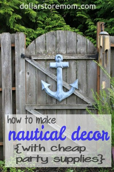 Best Dollar Store Crafts » Blog Archive » Make Cheap Nautical This Month