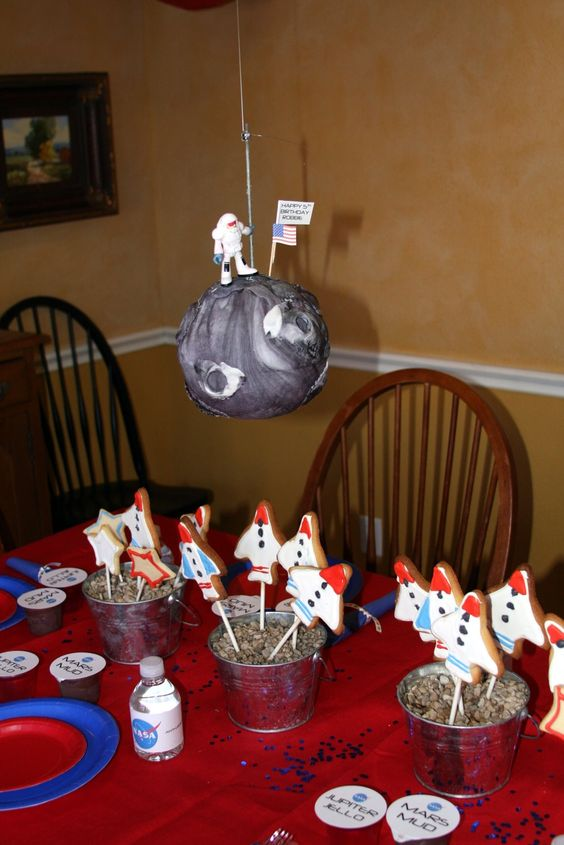 Best Table Decor Apollo 13 Party Pinterest Training This Month