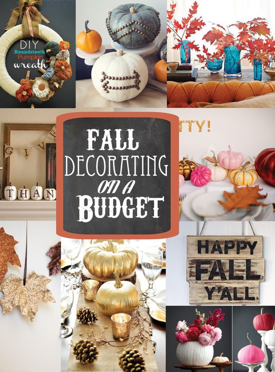 Best Diy Fall Decorating On A Budget Soho Sonnet Creative This Month