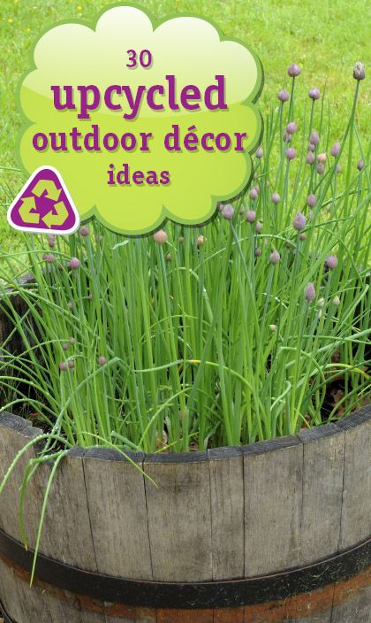 Best Upcycled Outdoor Decor Deb Homewardfounddecor S This Month