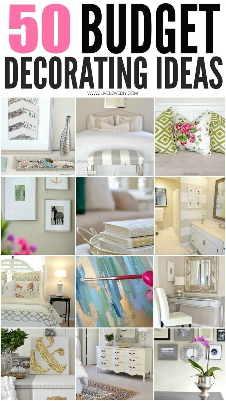 Best 50 Budget Decorating Tips You Should Know Livelovediy This Month