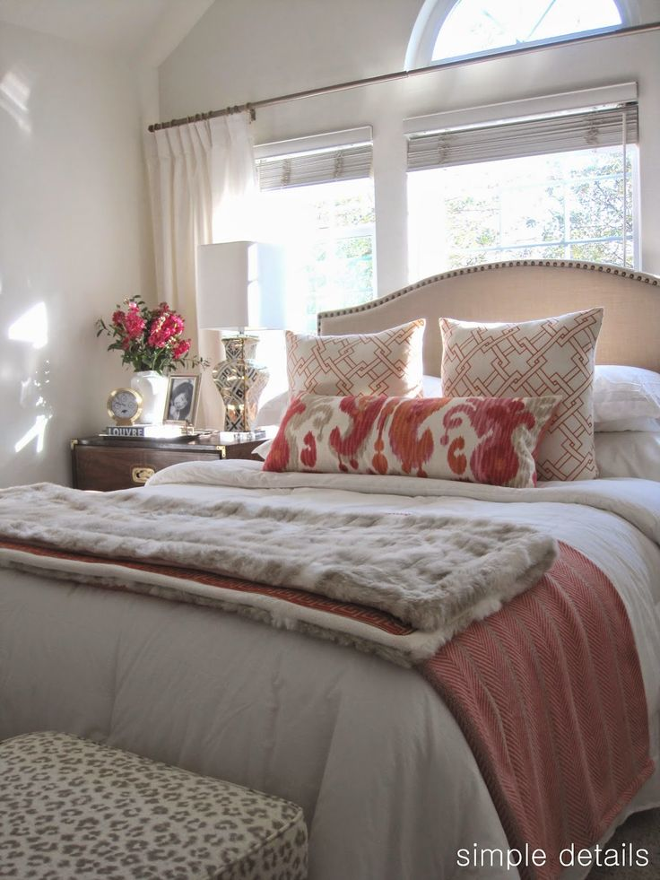 Best 25 Neutral Bedrooms With Pop Of Color Ideas On Pinterest This Month