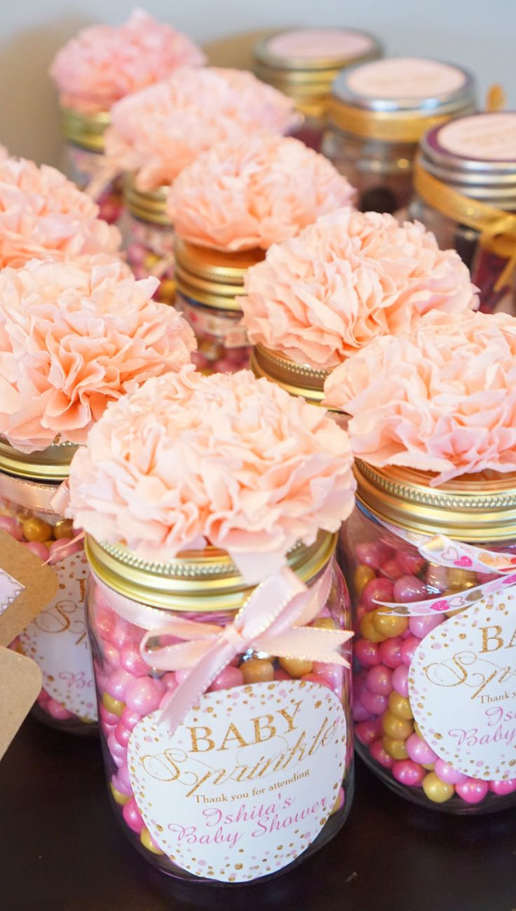 Best Diy Baby Shower Favor Gifts All You Need Is Mason Jars This Month