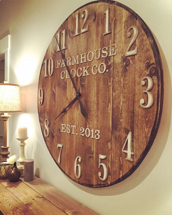 Best 25 Large Clock Ideas On Pinterest This Month