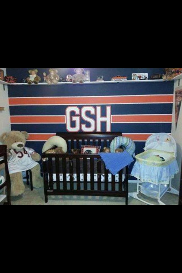 Best Baby S Chicago Bears Room Home Decor Pinterest This Month