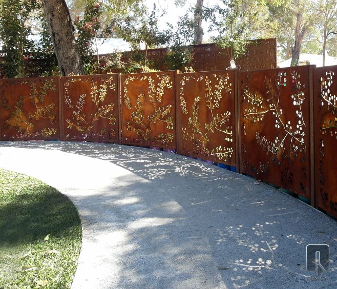 Best Wattle Laser Cut Screen Outdoor Design Fence Infills This Month