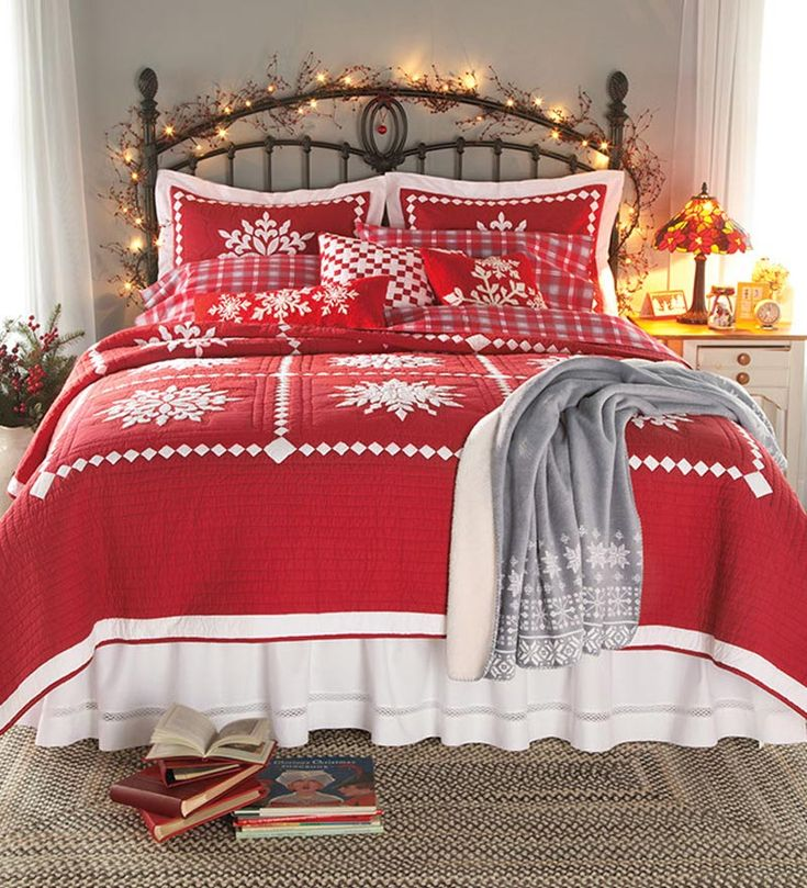 Best 25 Best Ideas About Christmas Bedding On Pinterest This Month