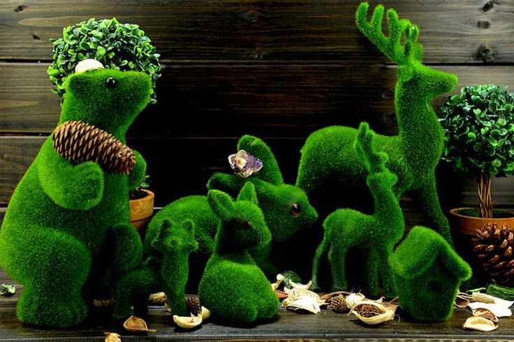 Best Artificial Creative Grass Animal For Home And Garden Decor This Month