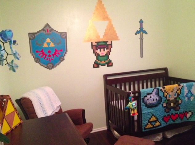 Best Legend Of Zelda Nursery Video Game Home Decor This Month