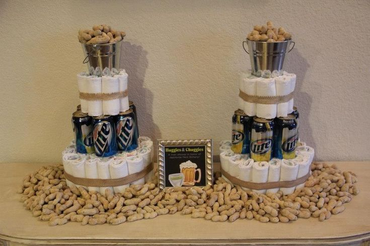 Best Diaper Cake For A Man Shower Crafty Pinterest We This Month