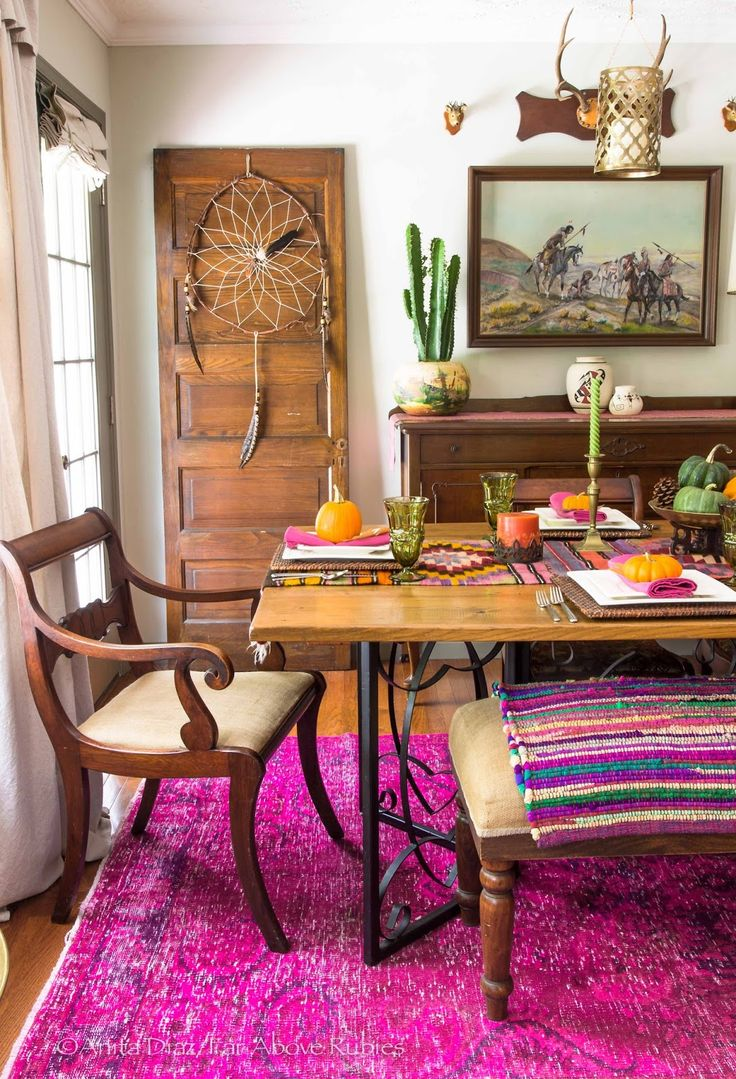 Best 25 Bohemian Dining Rooms Ideas On Pinterest This Month