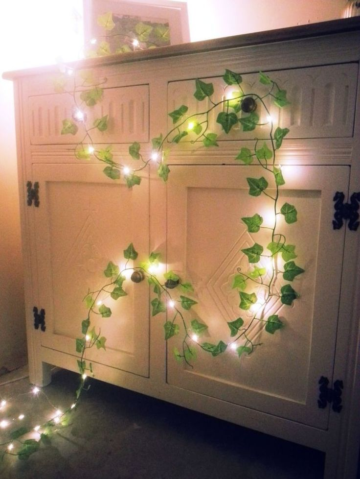 Best Green Ivy Leaf Garland Mini Led Fairy String Lights This Month