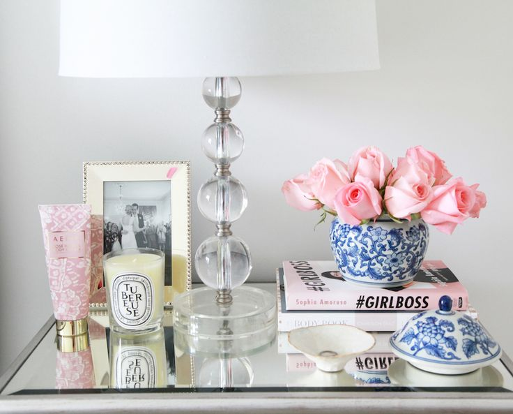Best 25 Bedside Table Decor Ideas On Pinterest This Month