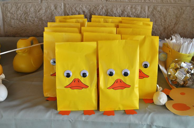 Best Rubber Ducky Party Goody Bags Y Party Ideas Pinterest This Month