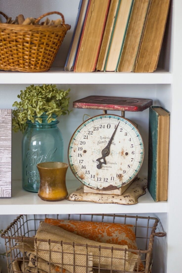 Best Antique Shelf Styling Decorating With Antiques This Month
