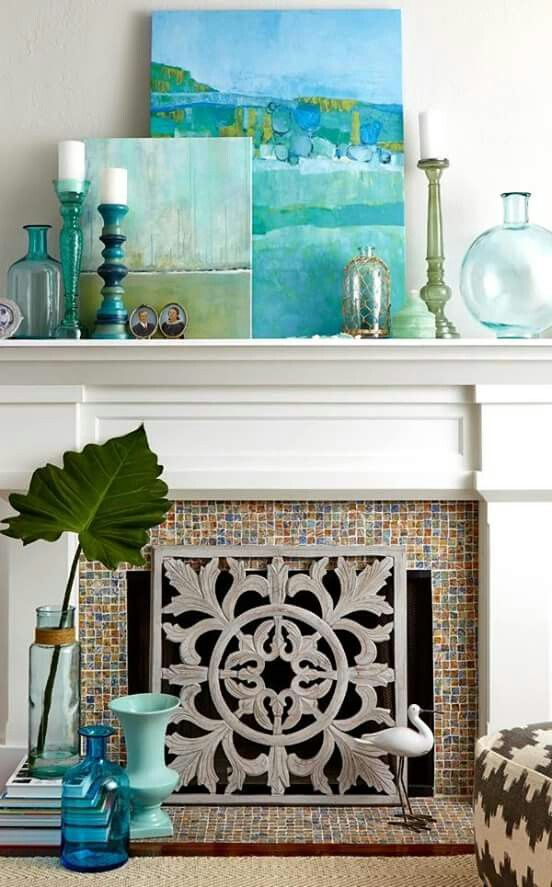 Best 25 Best Ideas About Beach Mantle On Pinterest Summer Mantle Decor Beach Style Fireplaces And This Month