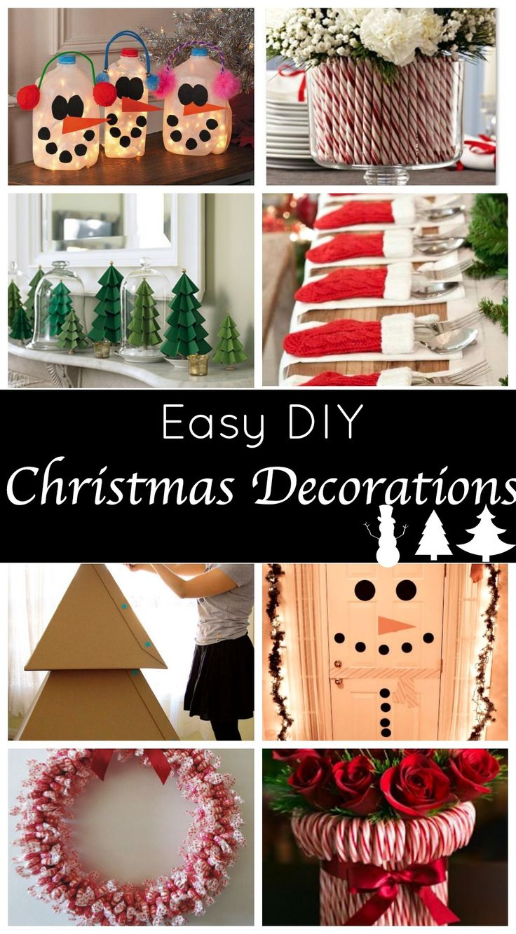 Best Easy Diy Christmas Decorations Ideas This Month