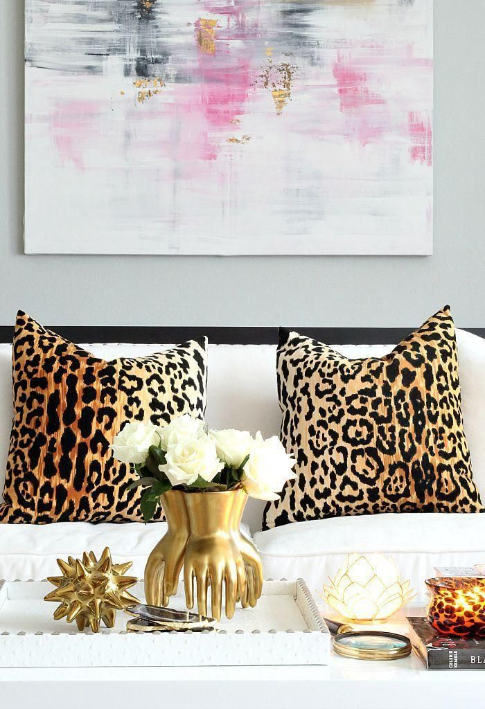 Best 17 Best Ideas About Leopard Pillow On Pinterest Living This Month