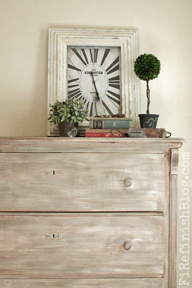 Best Pine Dresser Makeover By Firefinish White Washed Grey This Month